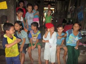 Niños (Kaliang) en Myanmar