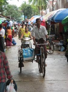 Mercado, en Myanmar
