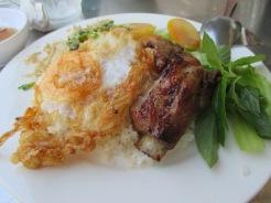 Rice & Pork Vietnamese food